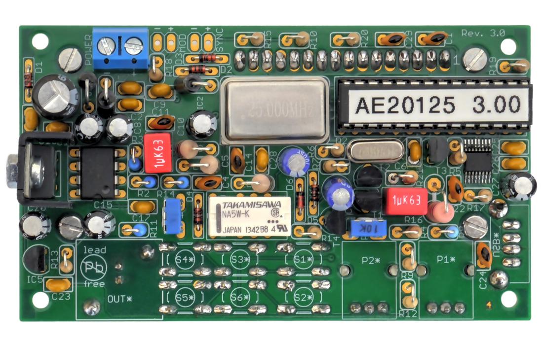 AE20125 PCB