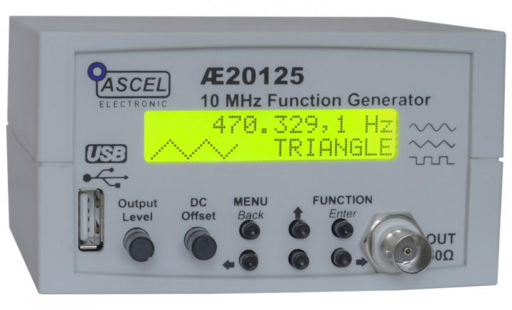 AE20125 10MHz Wobbel DDS Funktionsgenerator