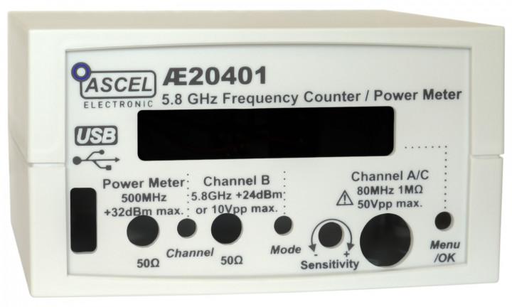 Gehäuse für AE20401 Frequenzzähler / Power Meter
