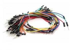 65 St. Patchkabel / Jumper Wires für Breadboard