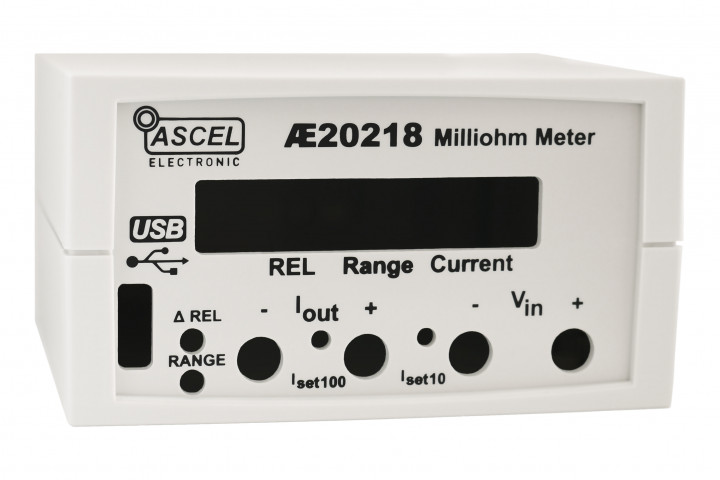Gehäuse für AE20218 Milliohm Meter